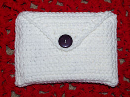 4x6 Index Card Holder Free Crochet Pattern