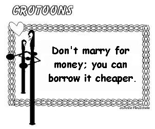 Don't Marry For Money...