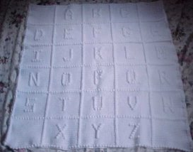 Baby's ABC's Afghan
