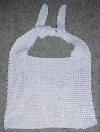 Adult Bib Crochet Pattern