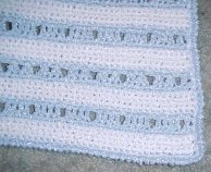 Ashley's Baby Afghan Crochet Pattern