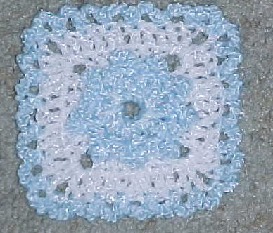 Baby Afghan Square 2