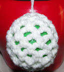Balloon Ornament Free Crochet Pattern