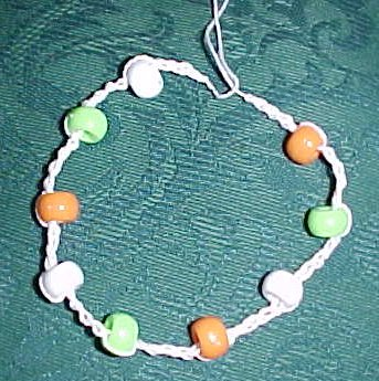 Beaded Anklet Crochet Pattern
