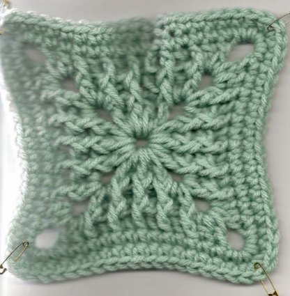 Bonnie's Textured Square Crochet Pattern