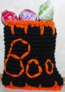 Boo Treat Bag Crochet Pattern