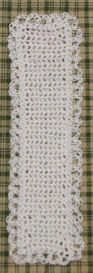 Bridal Bookmark Free Crochet Pattern