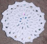 CD Coaster Free Crochet Pattern