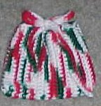 Christmas Ornament Bag Crochet Pattern