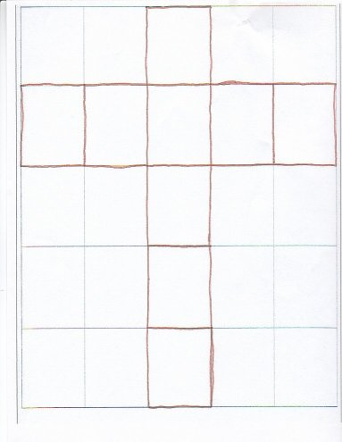Square Layout Chart