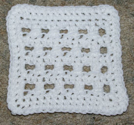 Cross Over Afghan Square Free Crochet Pattern