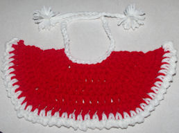 Fashion Doll Christmas Cape Free Crochet Pattern
