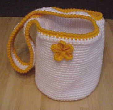 Flower Tote Crochet Pattern