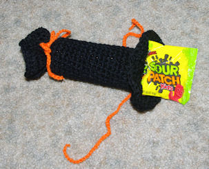 Halloween Candy Favor Free Crochet Pattern