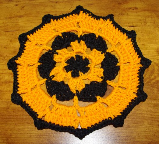 Halloween Doily Crochet Pattern