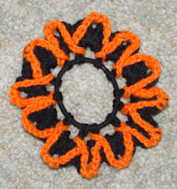 Halloween Scrunchie Free Crochet Pattern