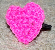 Heart Hairband Free Crochet Pattern
