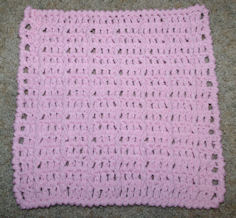 In the Pink Dishcloth Free Crochet Pattern