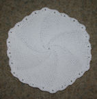 In The Round Placemat Crochet Pattern