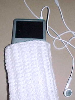 Ipod Classic Sock Crochet Pattern