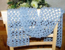 Lacy Summer Scarf Crochet Pattern
