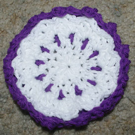 Layered Coaster Free Crochet Pattern