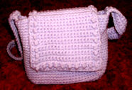 Lilac Shoulder Bag Crochet Pattern