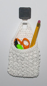 Locker Pocket Free Crochet Pattern