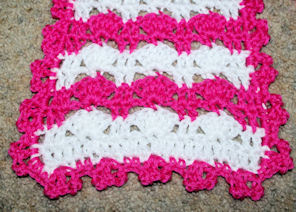 Pretty Stripes Scarf Free Crochet Pattern