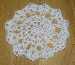 Ripple Edge Doily Free Crochet Pattern