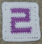 "Row Count ""2"" Coaster Crochet Pattern"