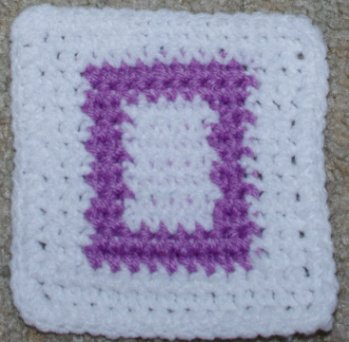 Row Count O Coaster Crochet Pattern