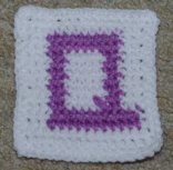 Row Count Q Coaster Crochet Pattern