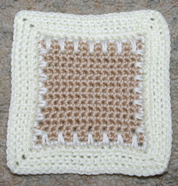 Six Inch Afghan Square Crochet Pattern
