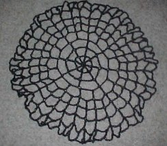 Spiderweb Table Topper Free Crochet Pattern
