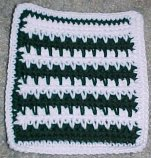 Spike Stitch Square Crochet Pattern
