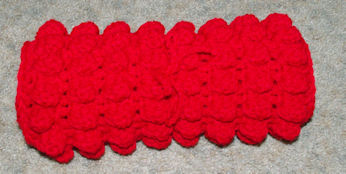 Stadium Mat Free Crochet Pattern Courtesy of Crochet N More