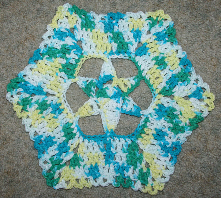 Star Centered Doily Free Crochet Pattern