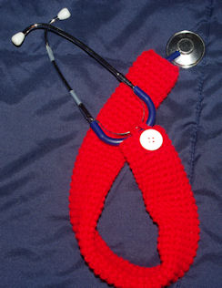 Stethoscope Cover Free Crochet Pattern