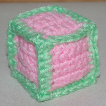 Stuffed Toy Block Crochet Pattern