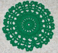Ten Inch Doily Crochet Pattern