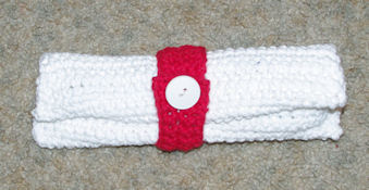 Toothpaste and Toothbrush Travel Pouch Free Crochet Pattern