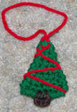 Tree Christmas Ornament Crocheet Pattern