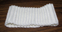 Wide Ribbed Headband Free Crochet Pattern